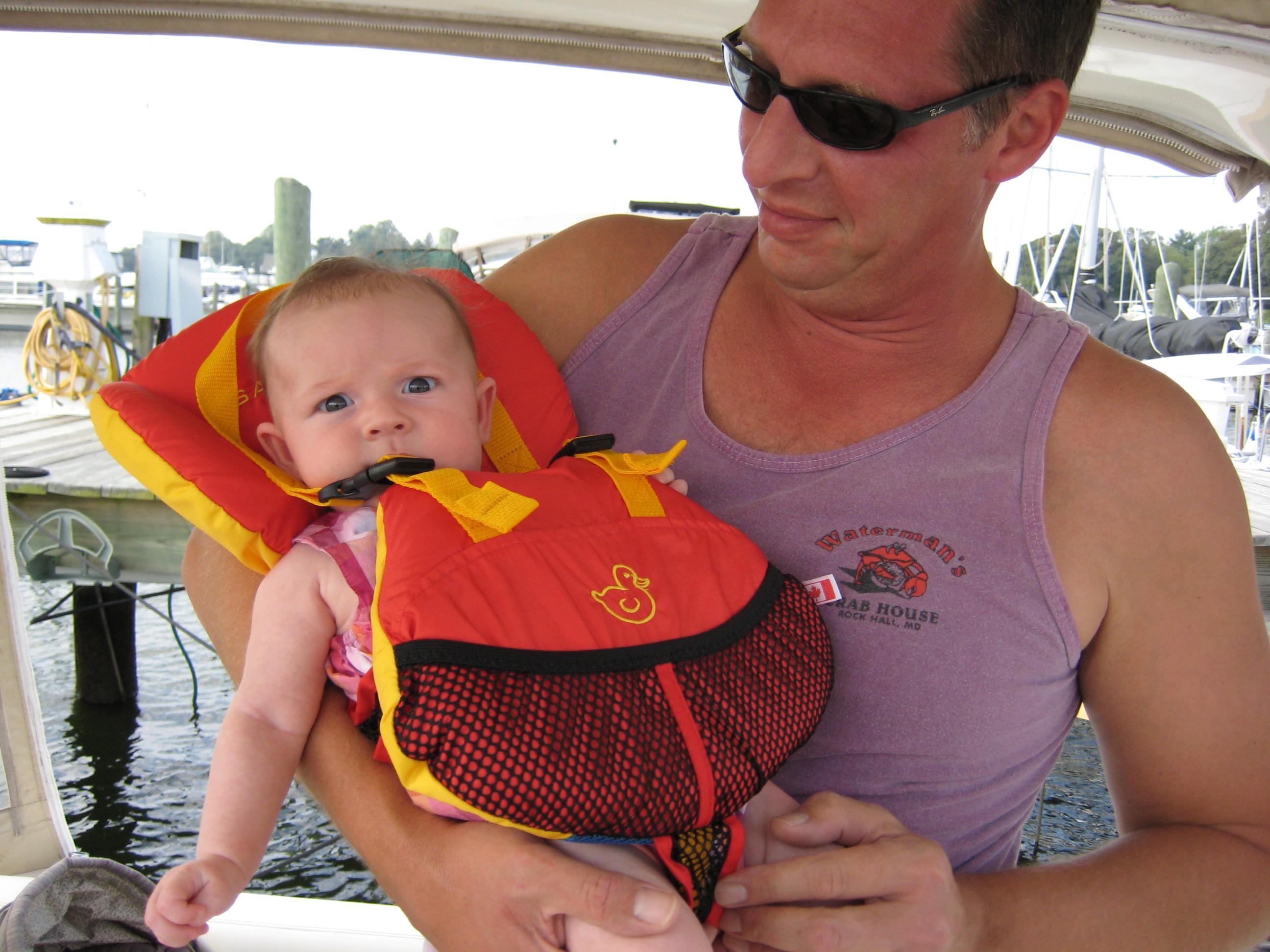 infant life jackets boating
