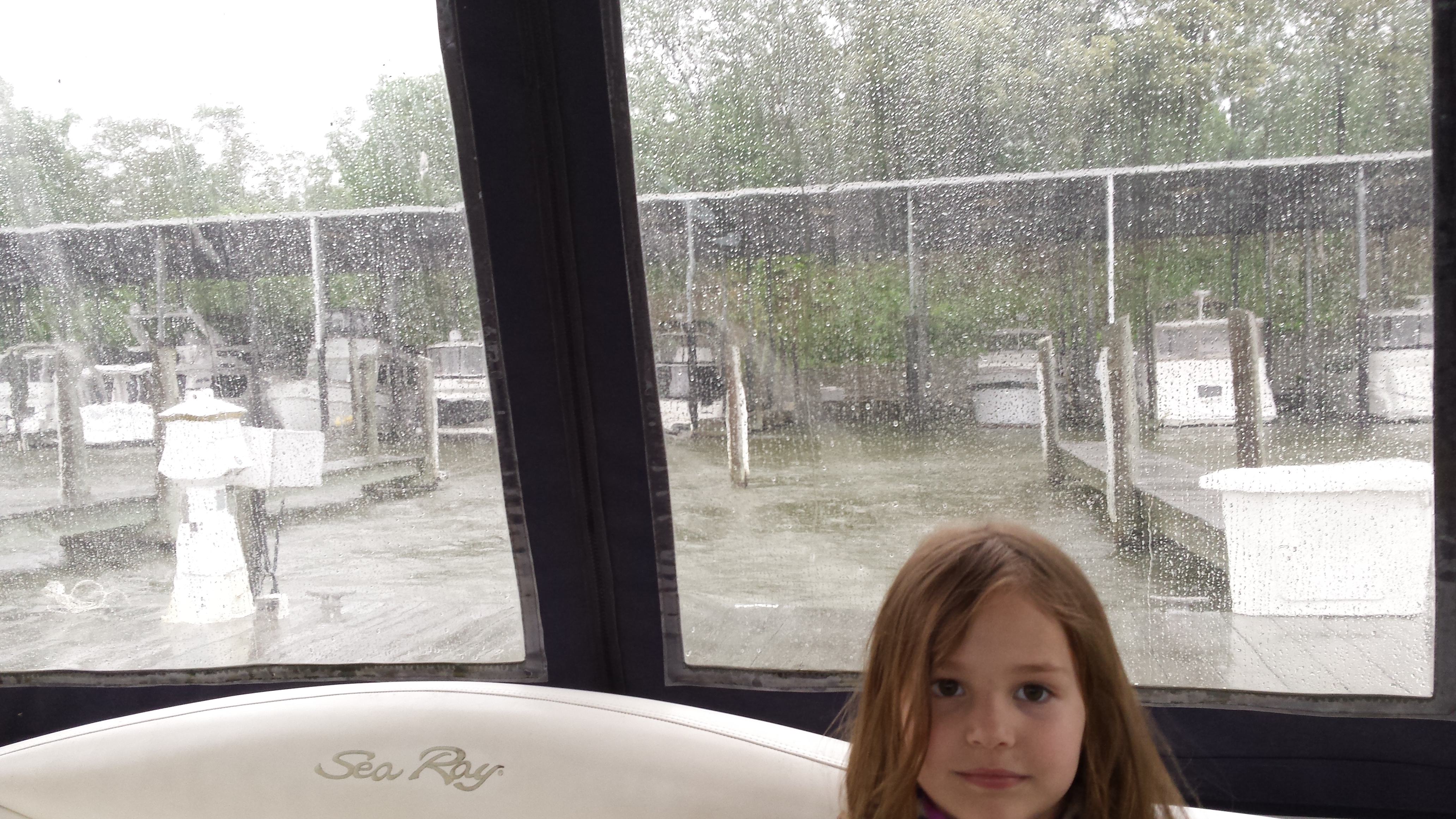 rainy day boating