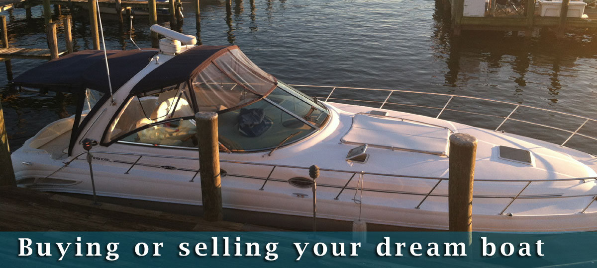 boat buying selling