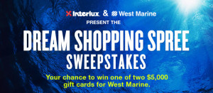 West marine Shopping Spree Sweepstakes