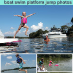 boat jump photos boater life