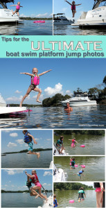 boat jump photos boater life