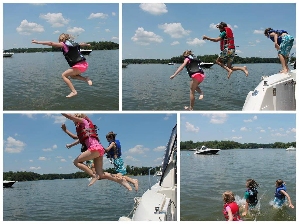 boat jump photos