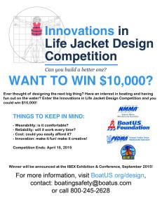 design better life jacket contest