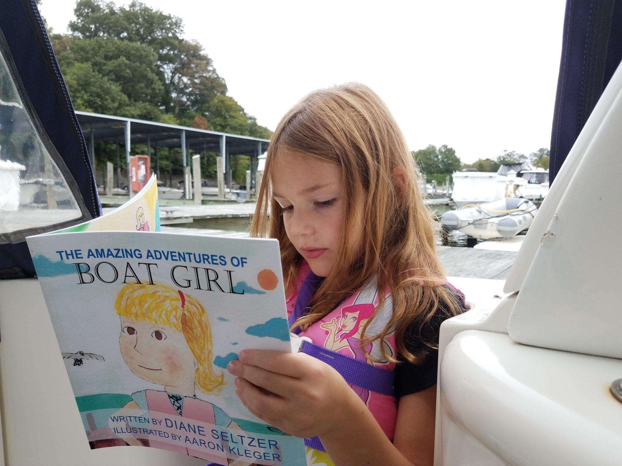 boat girl kids book