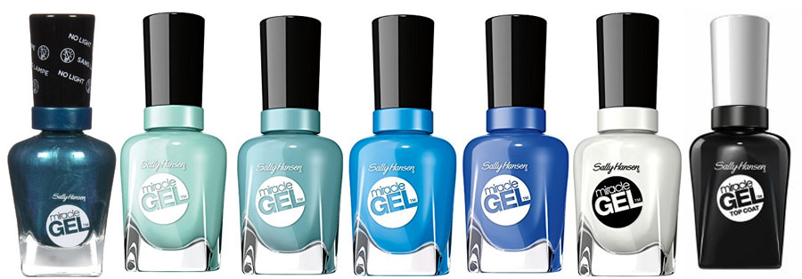 nautical gel polish color picks