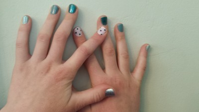 nautical nail designs with gel polish
