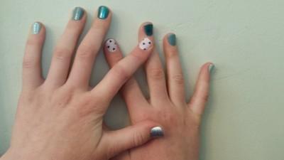 nautical nail designs with gel polish