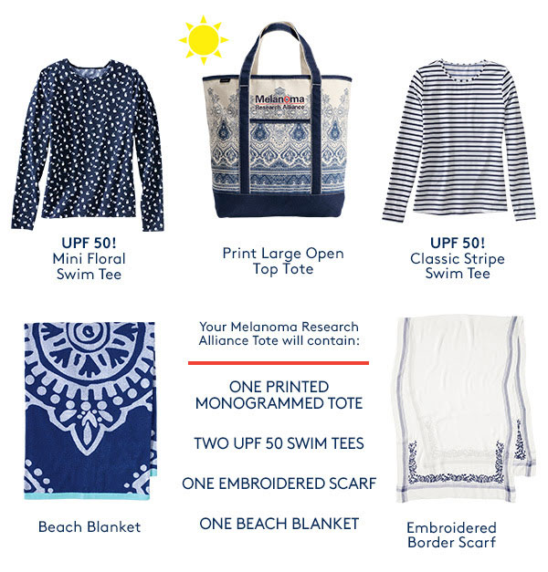 lands end gift tote sun safety