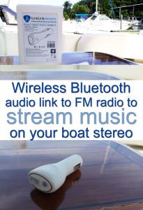 bluetooth stream boat music