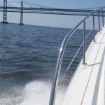 Boat Cruise Under Chesapeake Bay Bridge [VIDEO]
