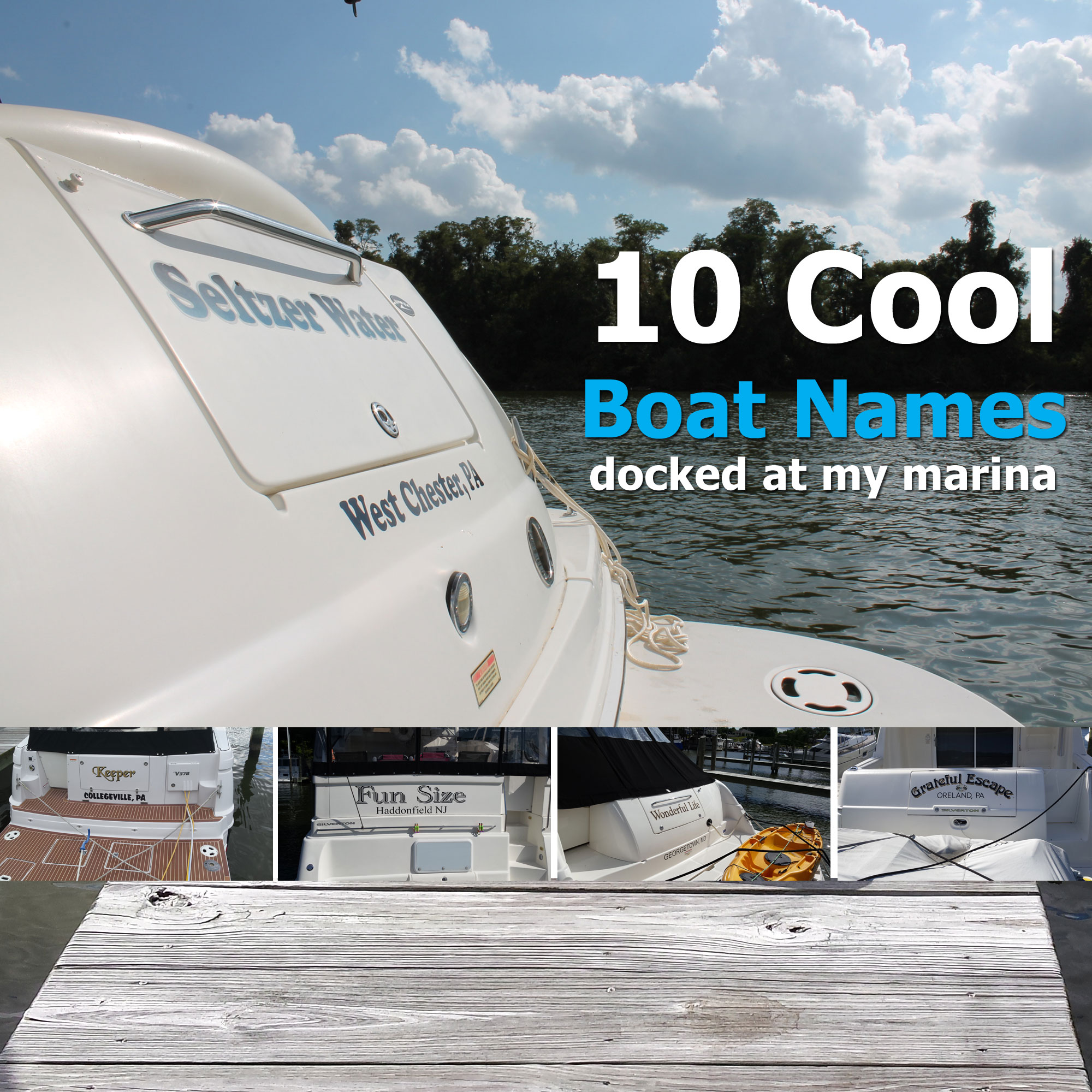 Cool Boat Names Docked At My Marina My Boat Life - Cool boat decals