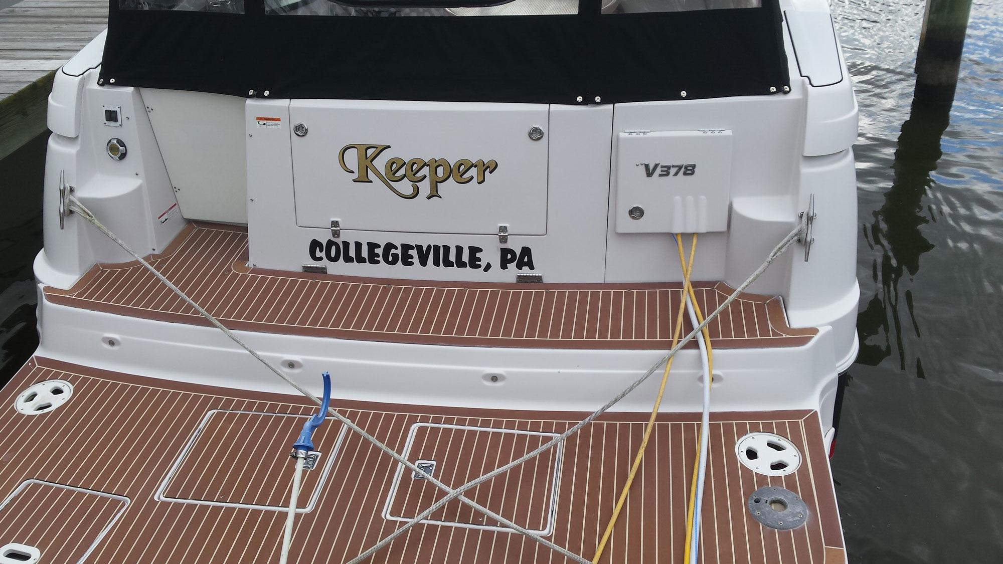 boat name keeper