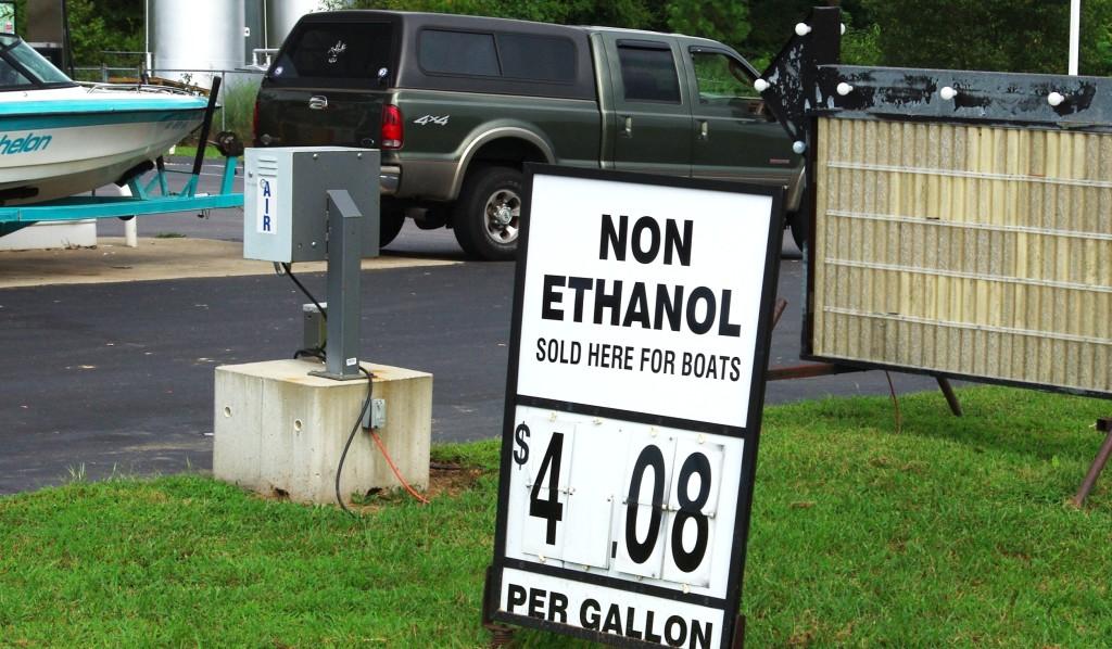 ethanol gas in boats