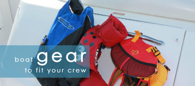 boat gear and accessories