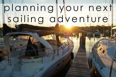 sailing adventure planning