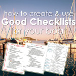How to Create and Use Good Checklists for Your Boat