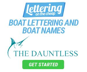 boat name lettering