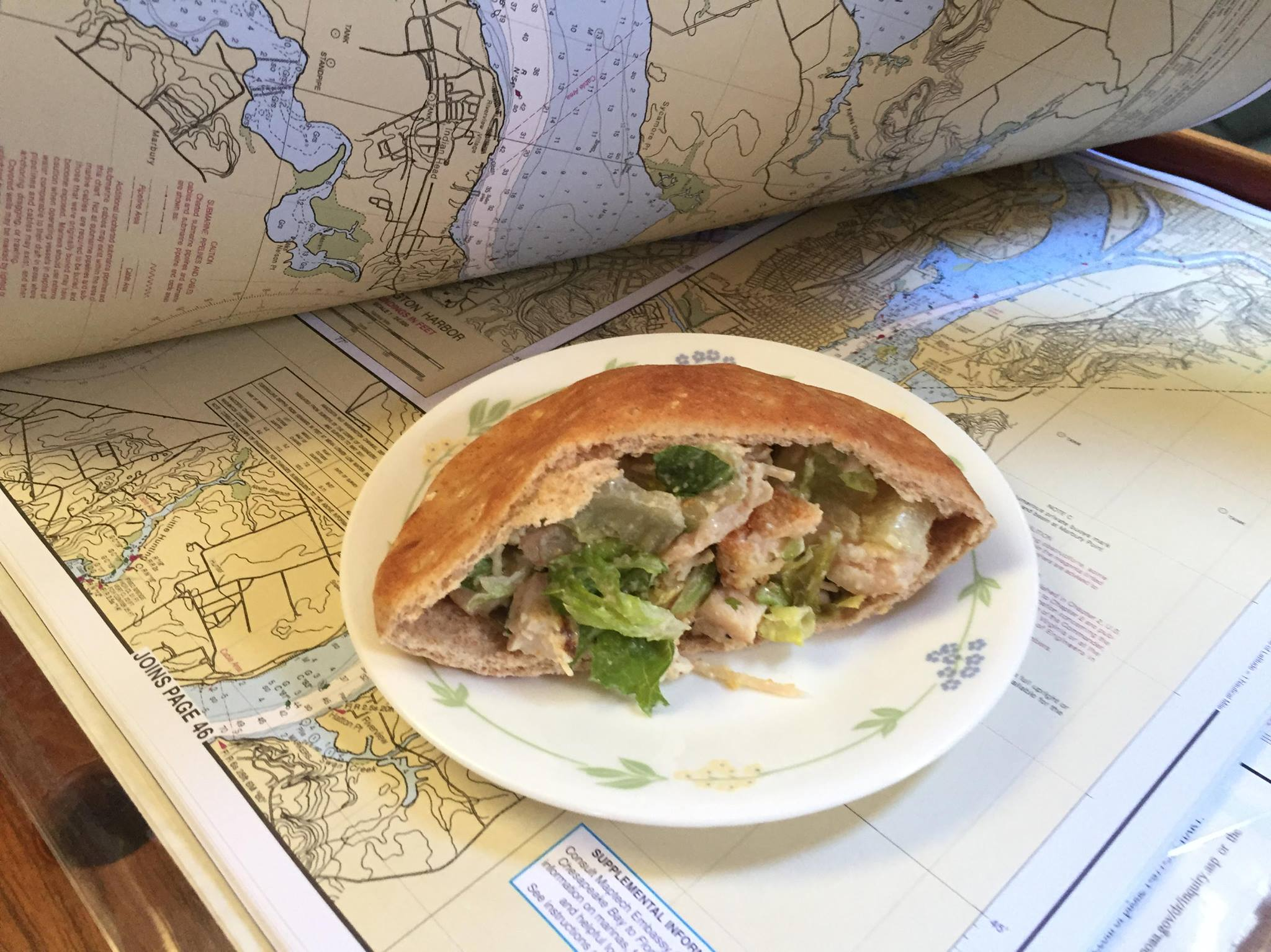 boat cruise meal planning