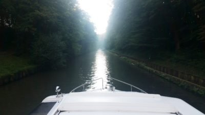 morning canal cruising