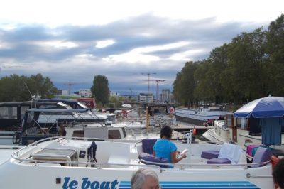 Berthed at Port du Plaisance