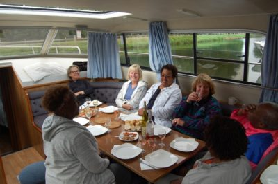 dining on boat