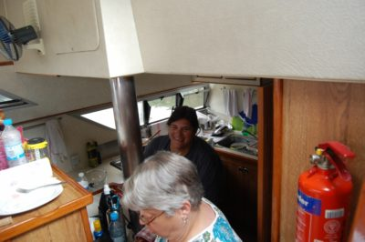 boat galley cooking