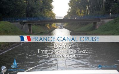 day 2 underway to Lutzelbourg