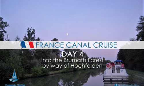 France Canal Cruise: Day 4 Into the Brumath Forest by Way of Hochfelden
