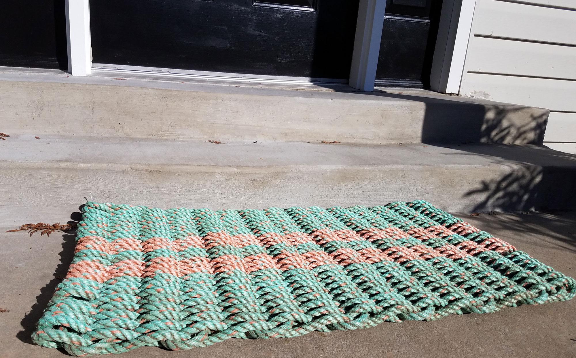 lobster rope doormat