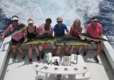 women in fishing