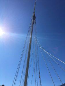skipjack sail