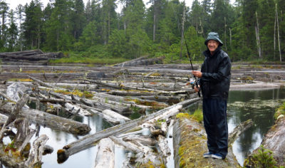 cut throat trout fishing butedale