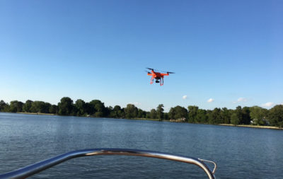 drone boating
