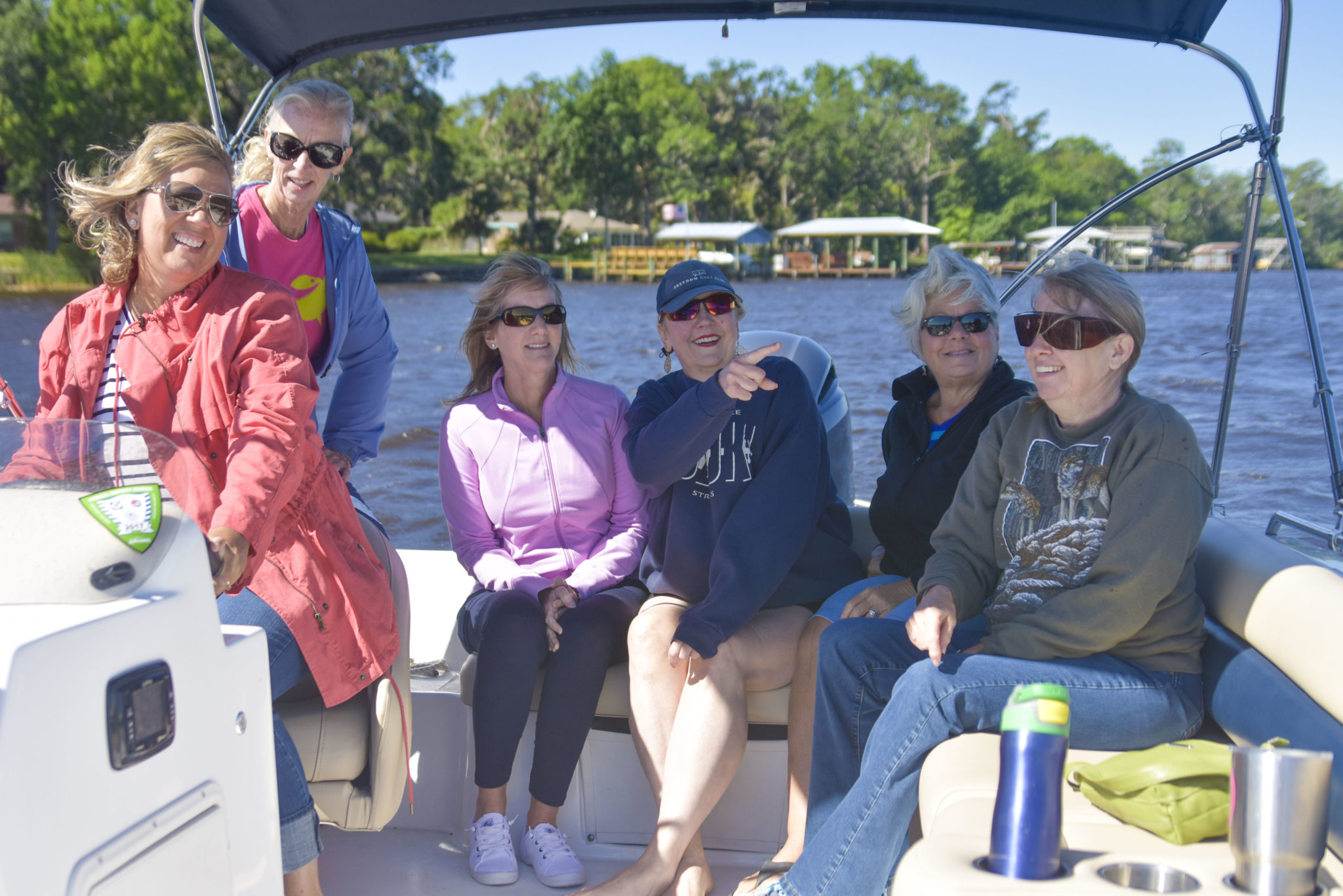 women boats
