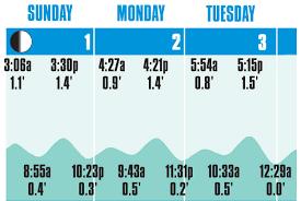 high tide chart
