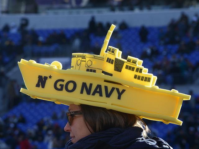 navy fan