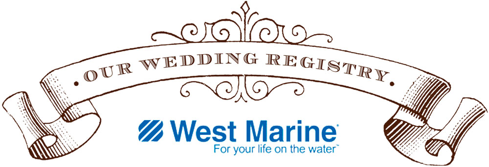 west marine wedding