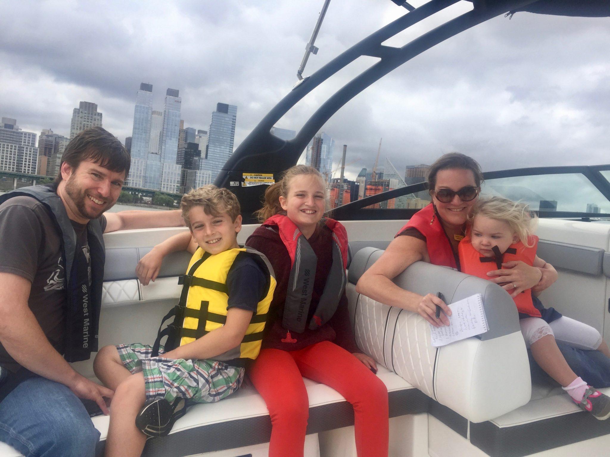 Reagan Haynes boat family