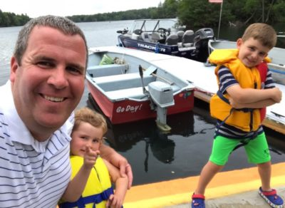 boating with kids lyons