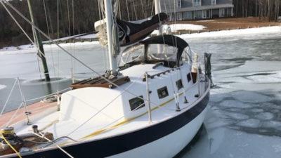 Winter sailing