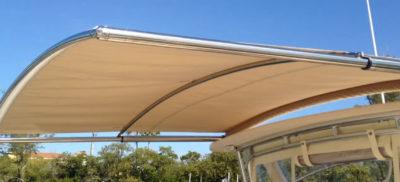 sureshade atf automated boat shade