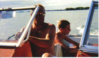 Matt sellhorst boating kid
