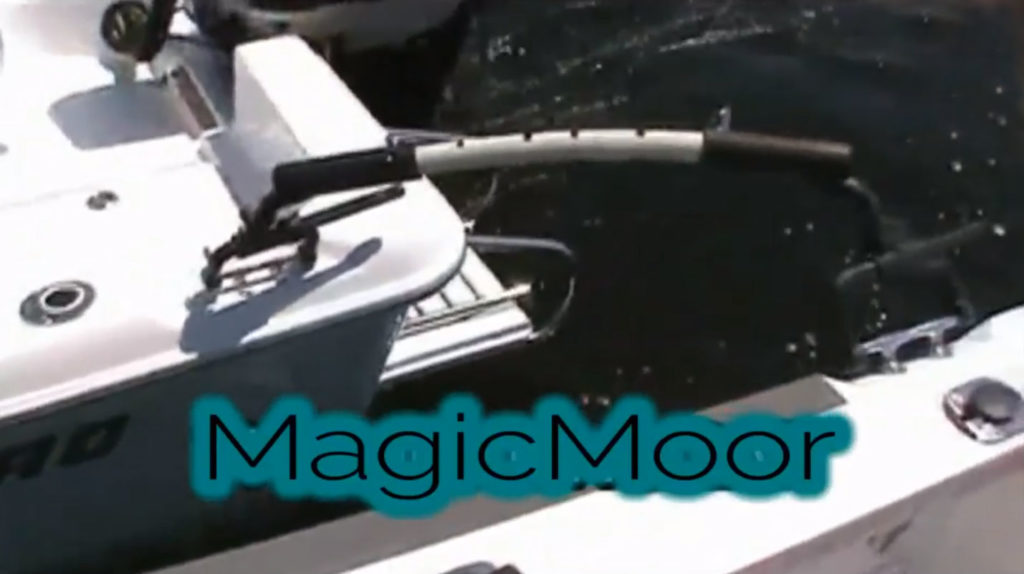 MagicMoor boat rafup