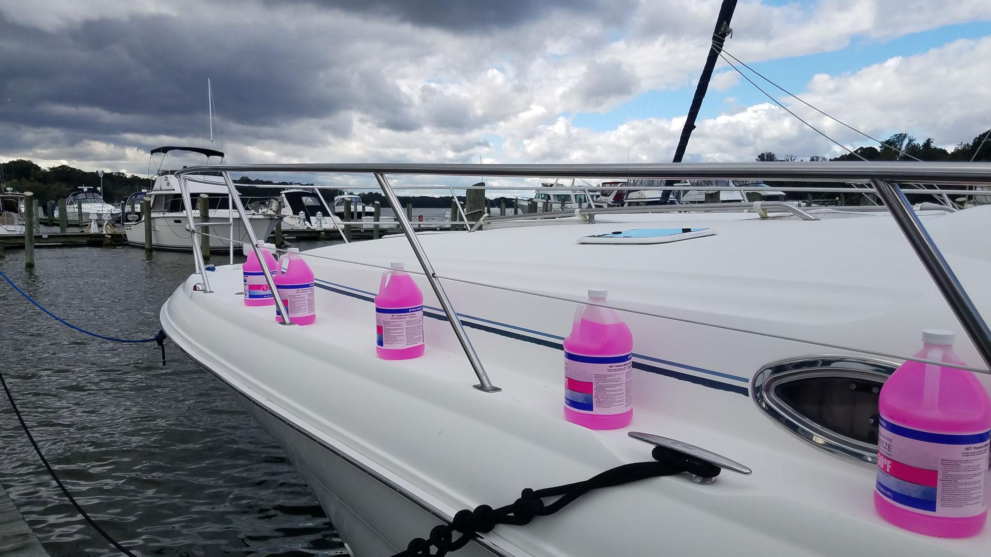 boat antifreeze