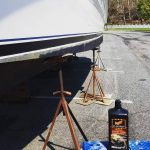 Wax On, Wax Off – Our Boat Waxing & Cleaning Process Before Launch