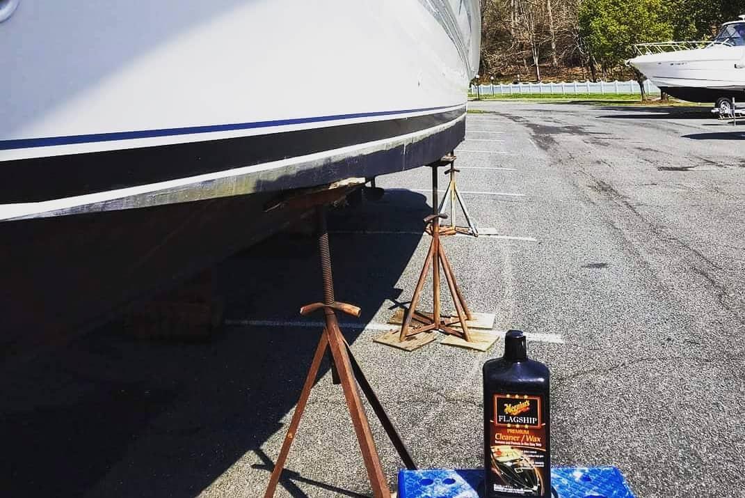 boat life spring boat prep