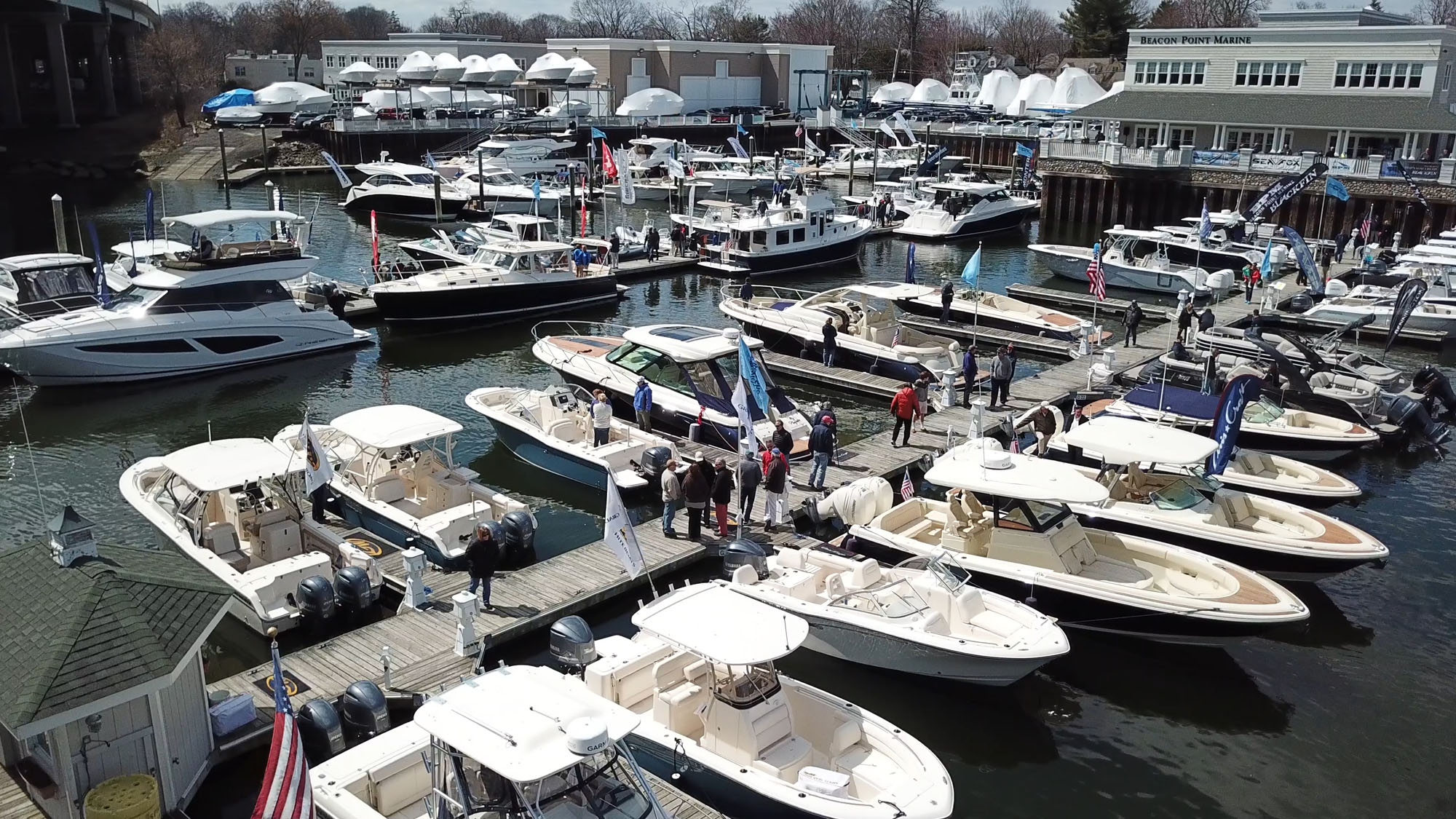greenwich boat show experience