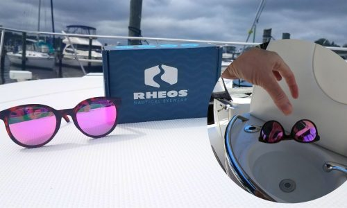 Rheos Floating Polarized Sunglasses for the Boat