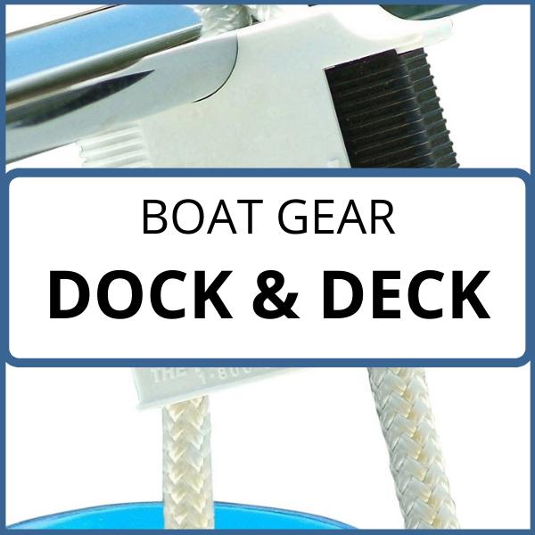 boat gear dock deck